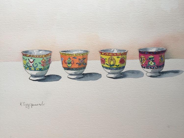 Chinese bowls - Image 0