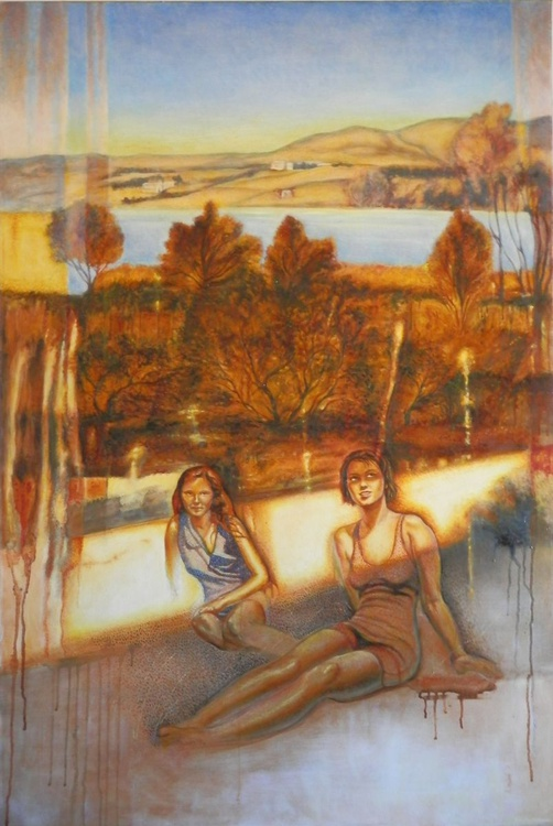 Young women near the lake - Image 0