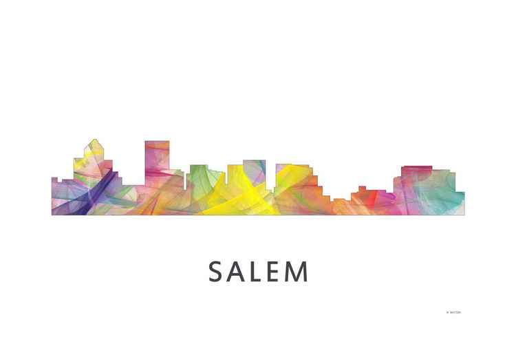 Salem Oregon Skyline WB1 -