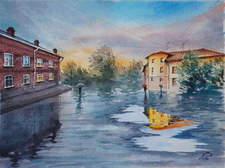 Wet city -
