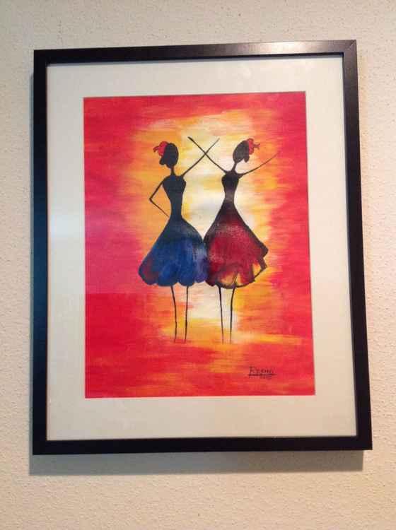 Dancing beauties