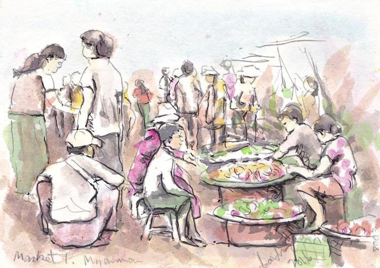 Market1, Myanmar - Image 0