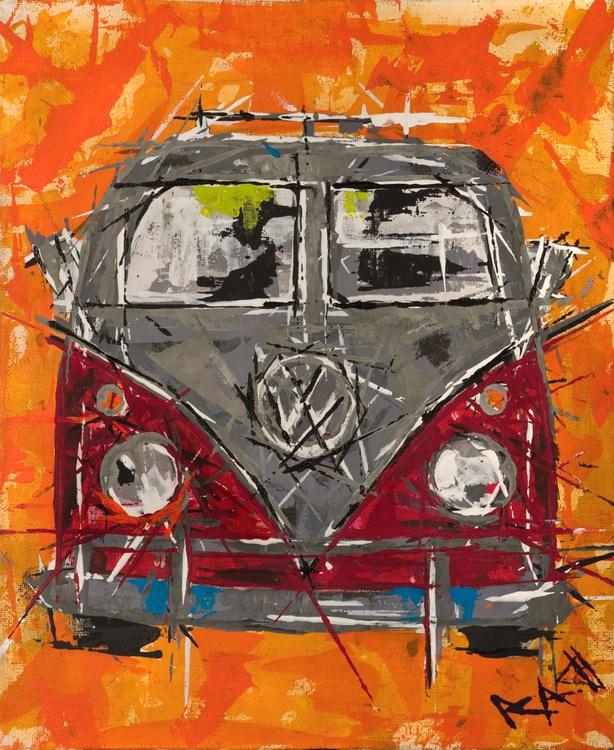Camper van's (Red) - Image 0