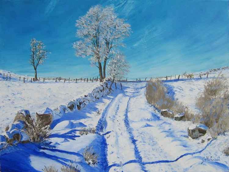 Paysage de neige -