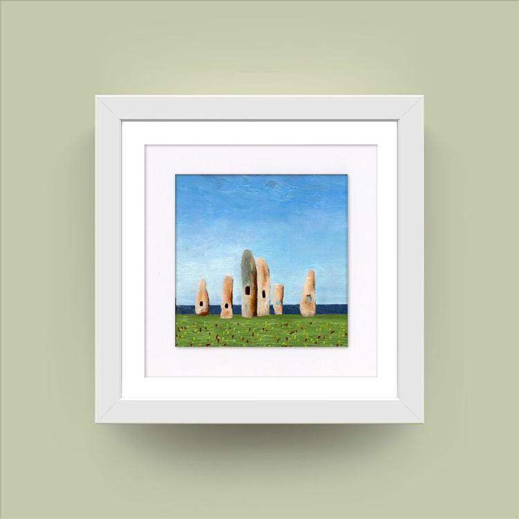 Monument (Encaustic Wax) - Image 0