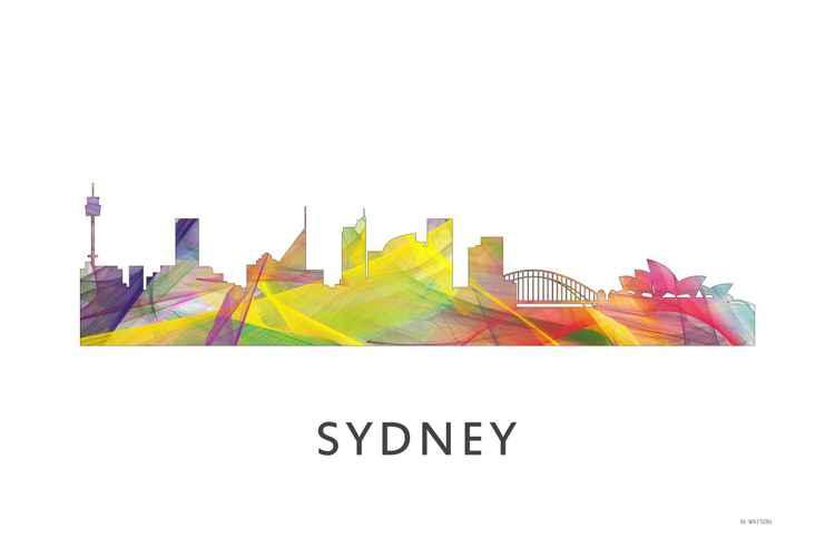 Sydney Australia Skyline WB1