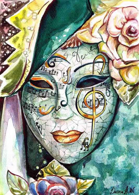 ''Facade''  Venice Mask, Carnival