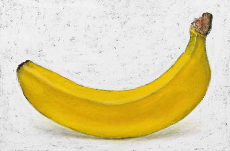 "Original pastel drawing ""Banana"""