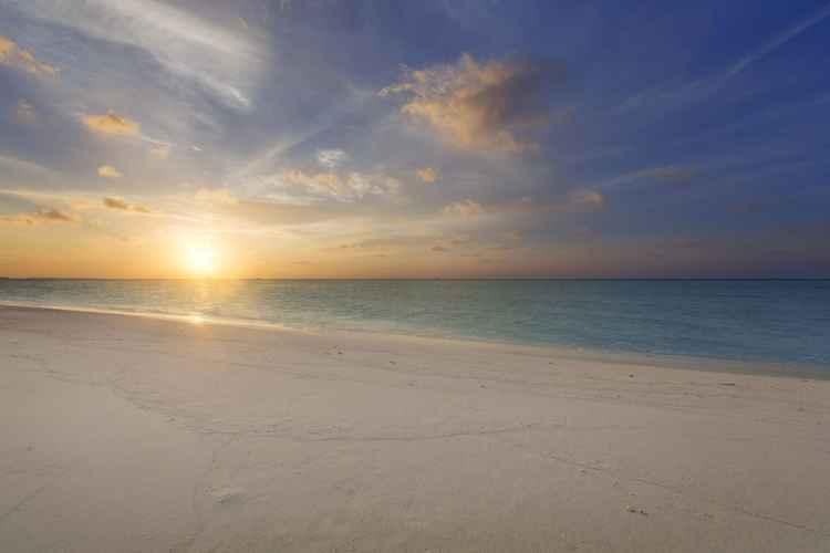 Tropical sunset Print