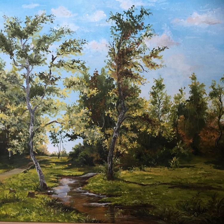 Birch forest edge - Image 0