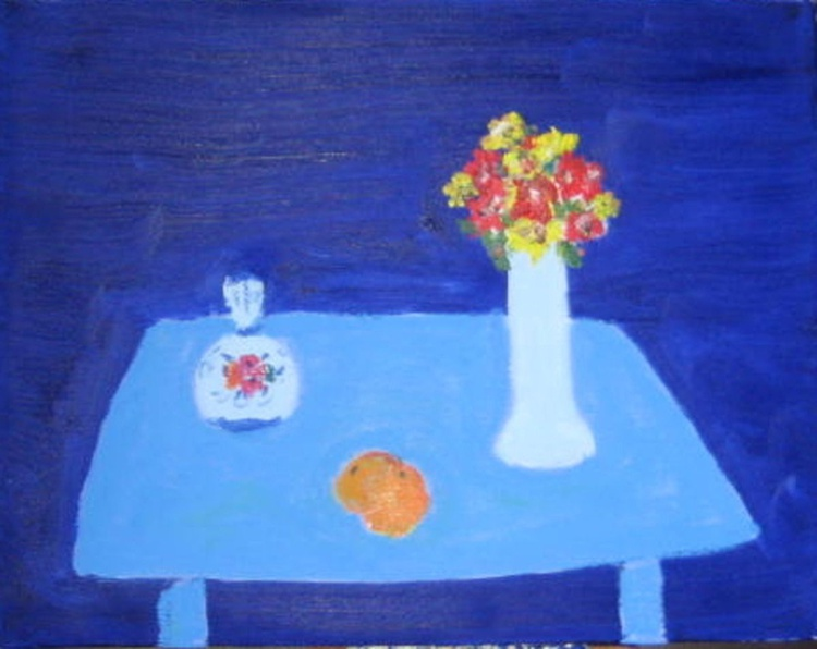 The Blue table - Image 0