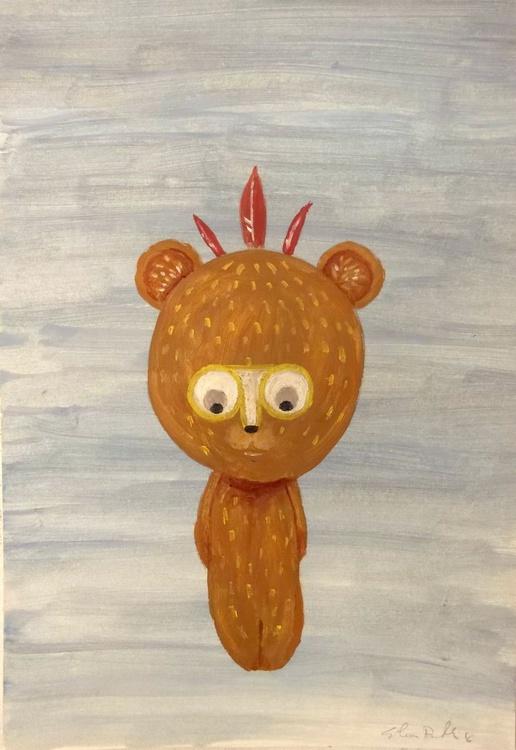 Native teddy bear - Image 0