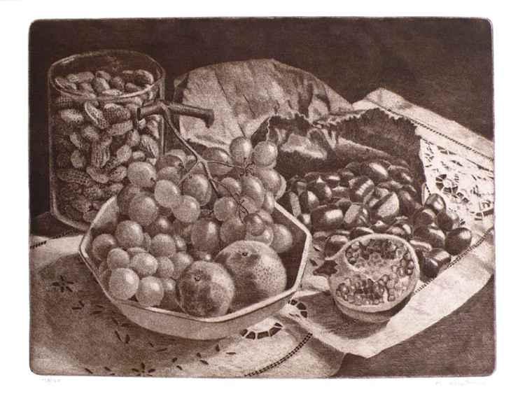 Cartoccio con castagne