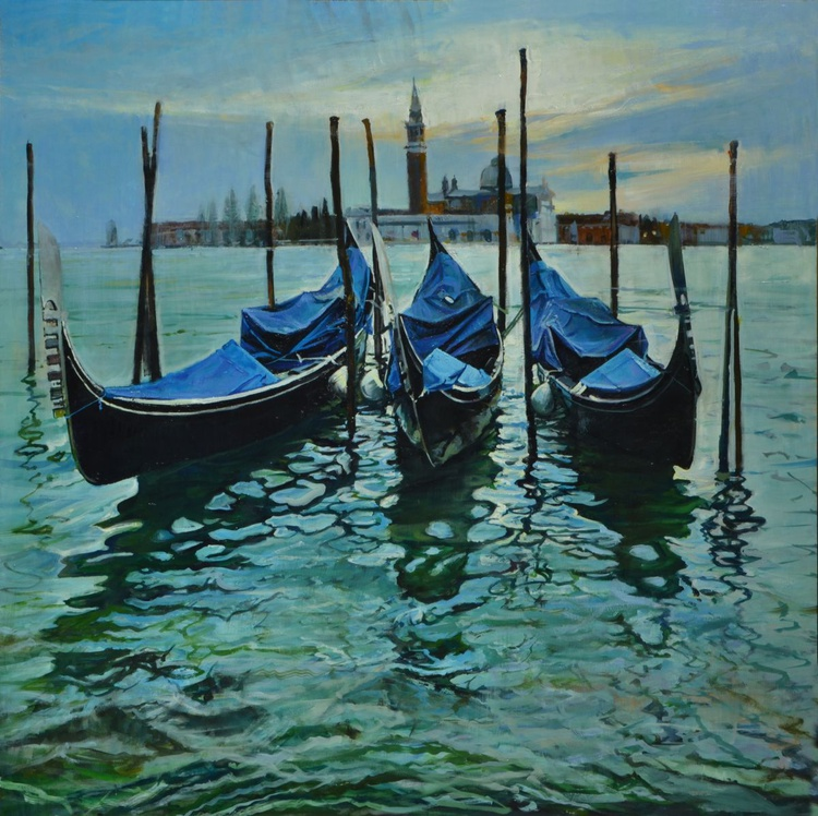 Three Gondolas - Image 0