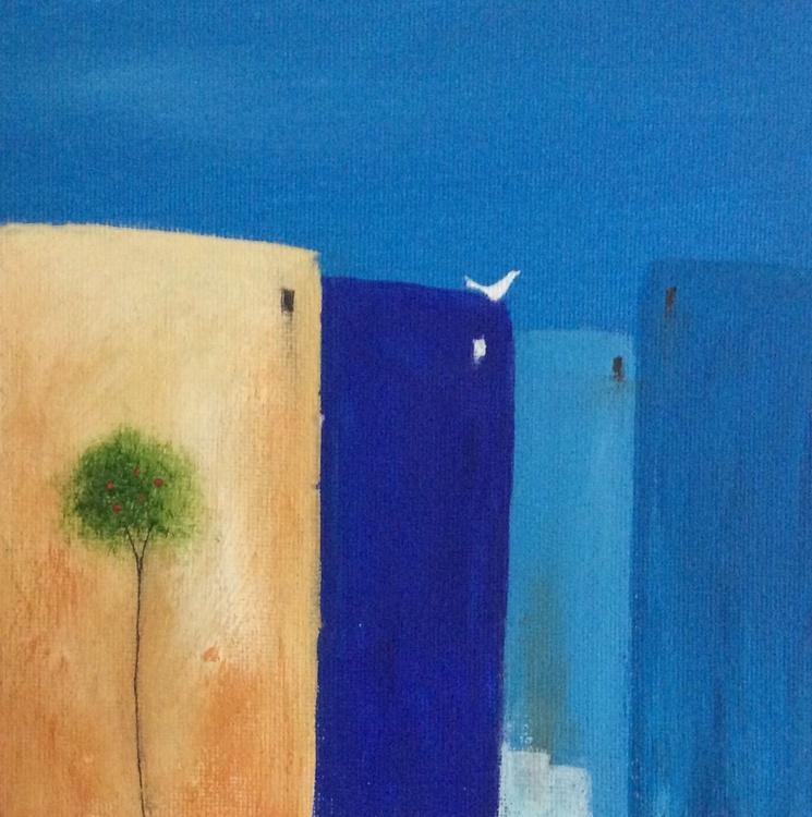 """ Mediterranean dawn "" ( miniature size) - Image 0"