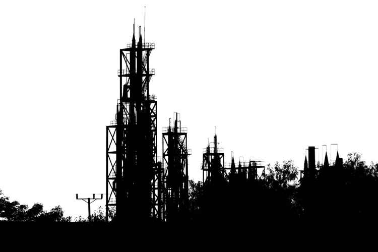 Power Station silhouette