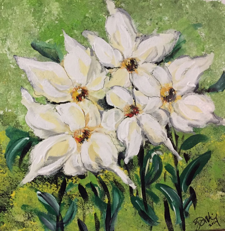White Flowers - Image 0