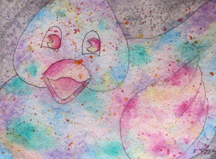 multi colored duck - Image 0