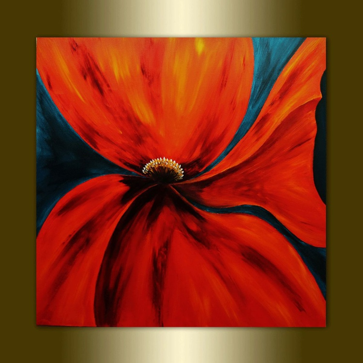 Red Poppy. - Image 0