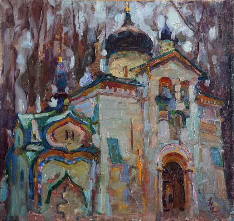 The Church in Abramtsevo