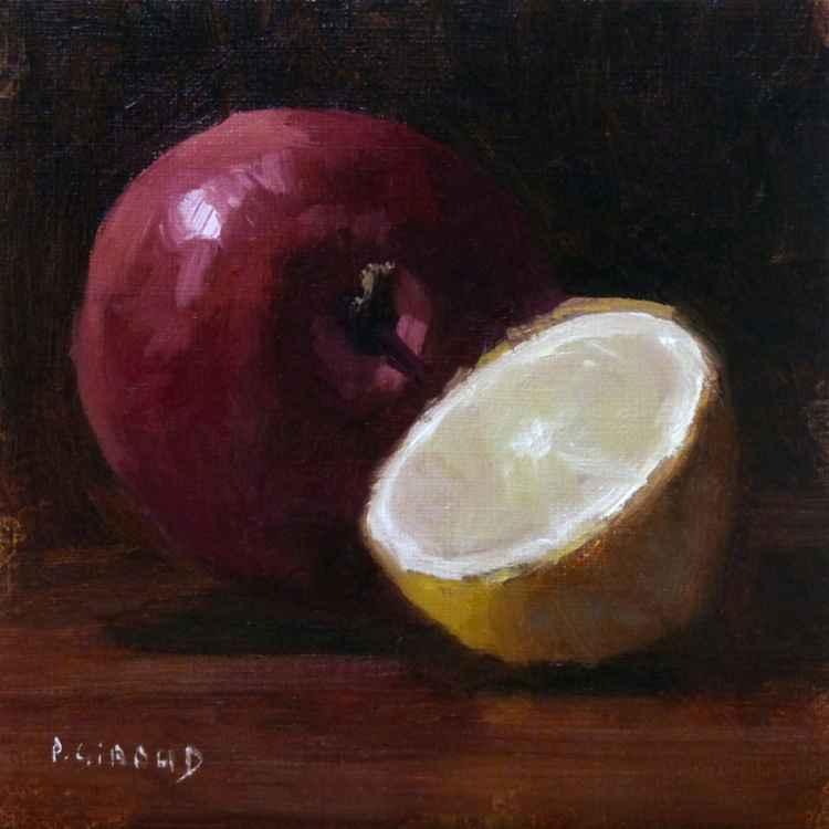 Apple and half a Lemon -