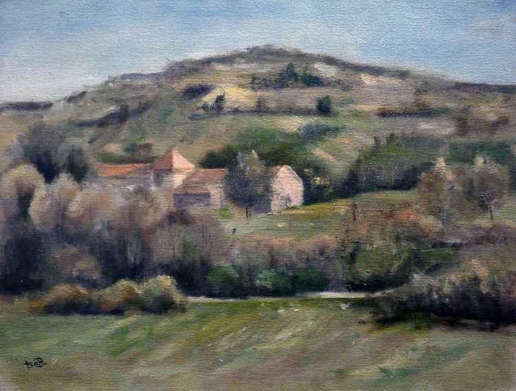 Farm near Chateauneuf val St Donna -