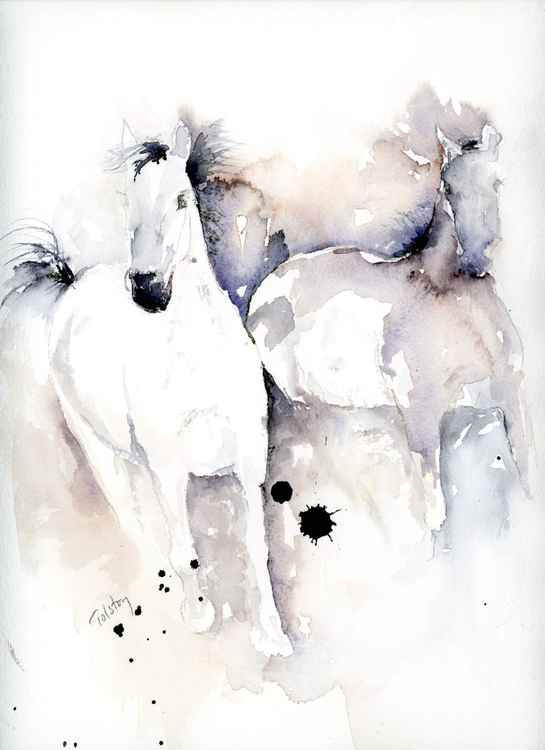 Two Horses -