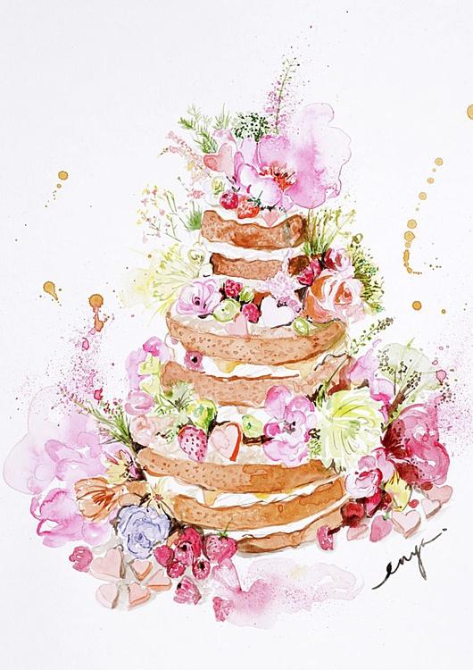 Naked cake - Image 0