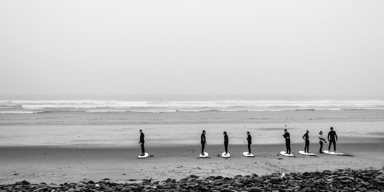 white strand surfers - Image 0