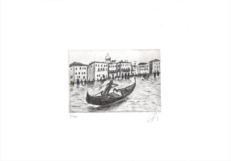 Gondola on Grand Canal - Image 0