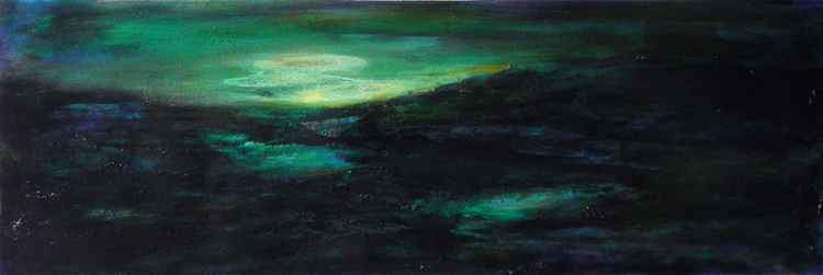 Night landscape -