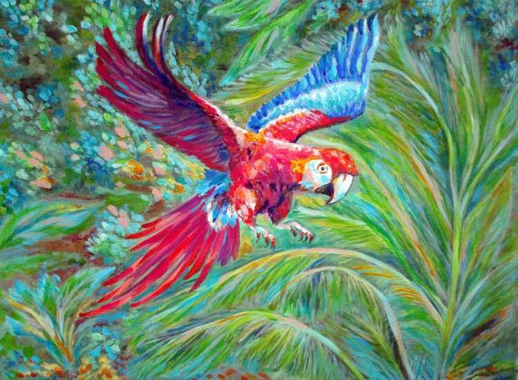 FLYING PARROT -
