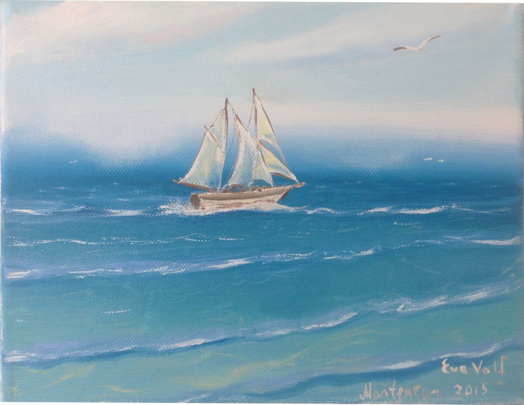 The Sailboat and the Sea 4 - Image 0