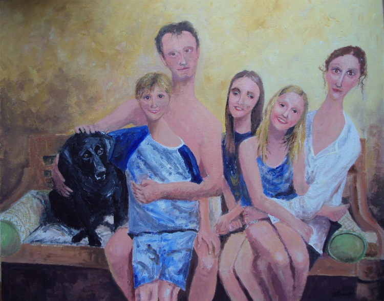 Family Group (COMMISSION) - Image 0