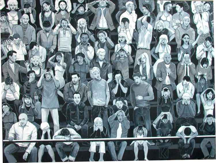 Black & White crowd