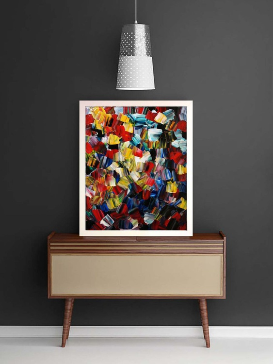 Evening Bouquet (Ready Framed) - Image 0