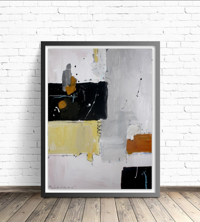 Yellow No 147, Abstract paper collection - Image 0