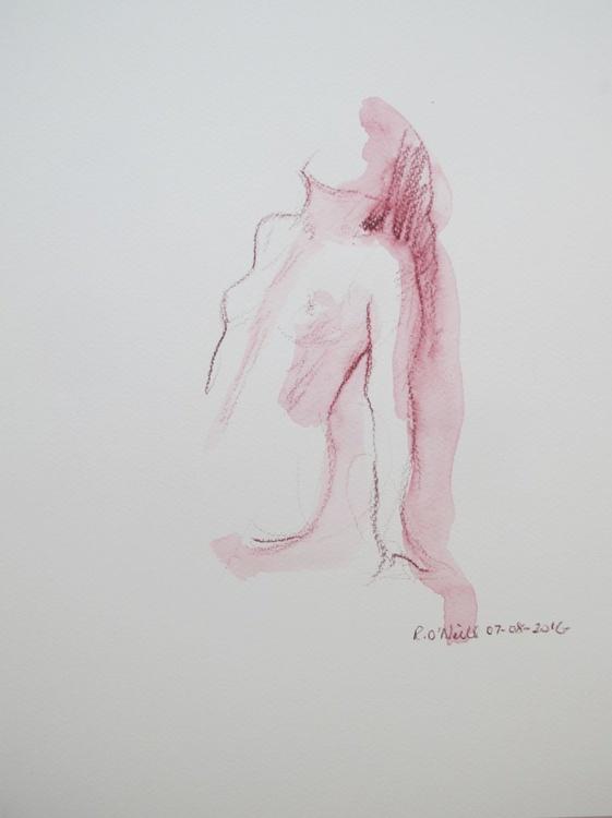 Seated nude - Image 0