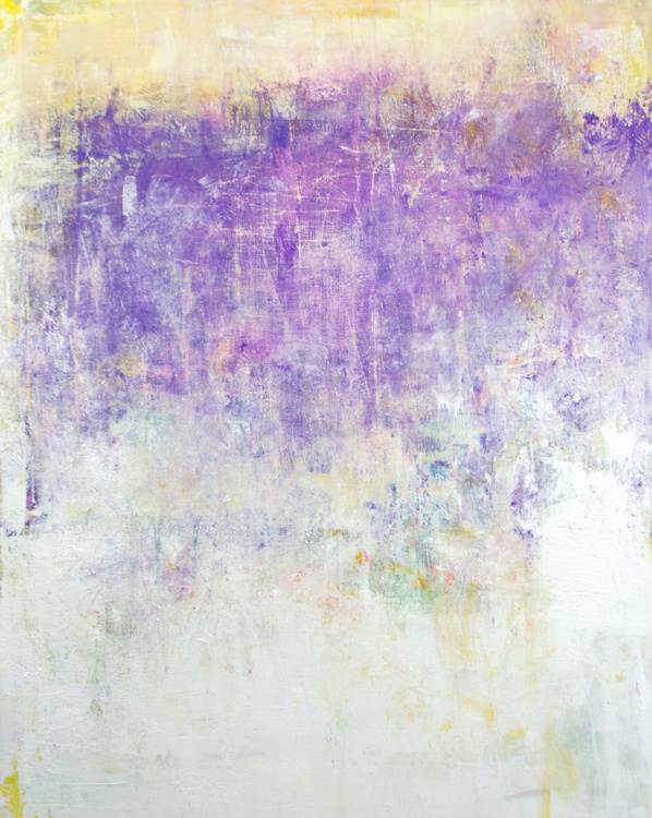 Lavender Field 4-12 24x30 inches - Image 0