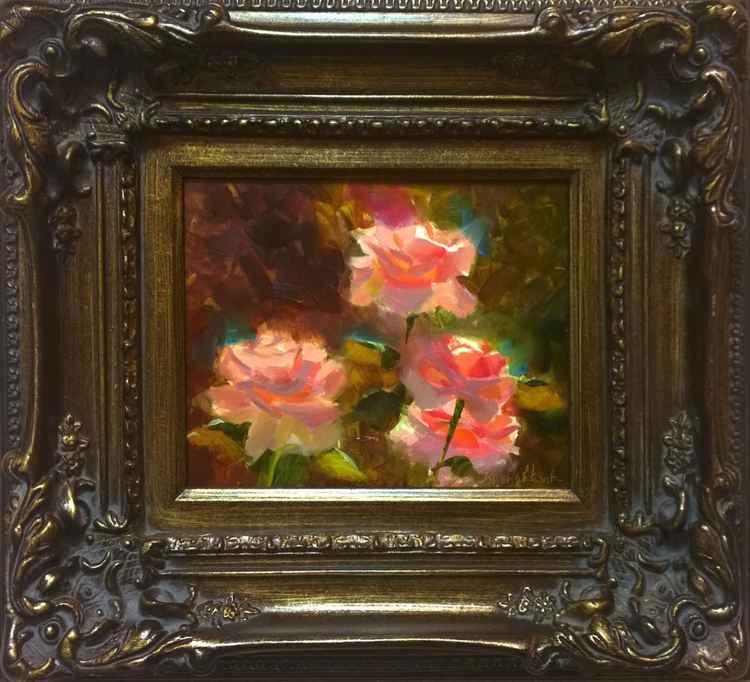 Symphony In Pink - Roses en Plein Air -