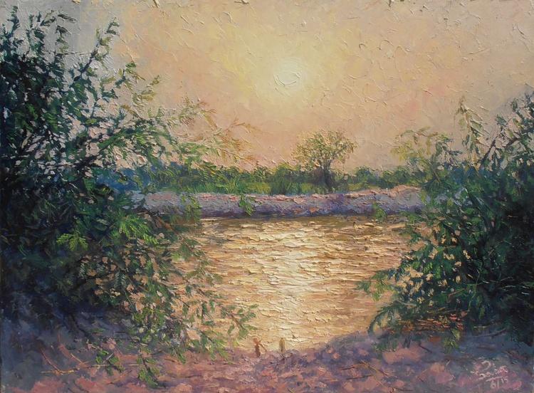 Sunset at Khesanamori Canal (2) - Image 0