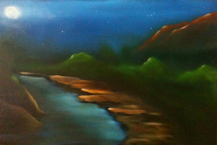 Reflection on the Rio Grande - Image 0