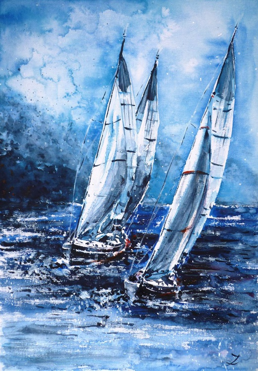 Sailing Away from the Storm - Image 0