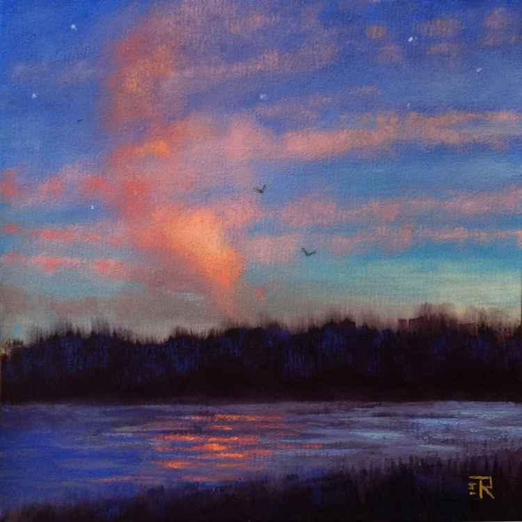Evening Lake -