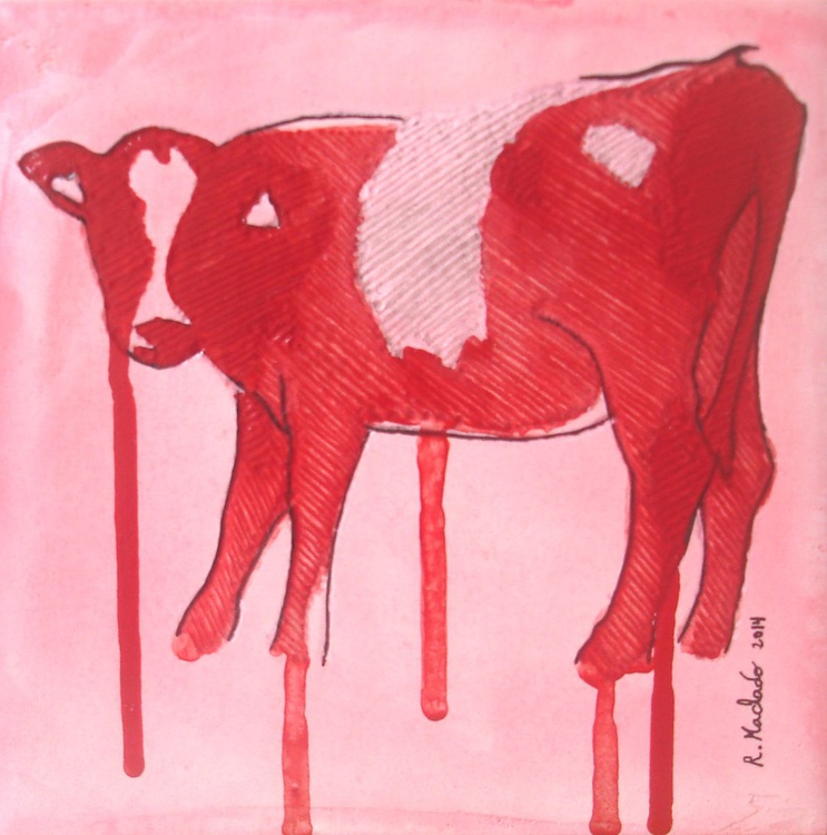 Cow Carved III - Image 0