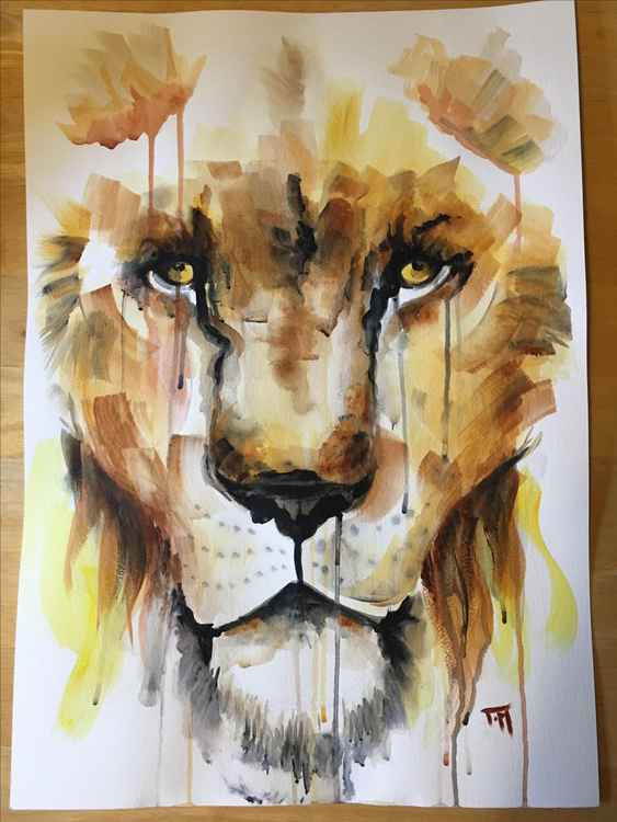 Weeping Lion
