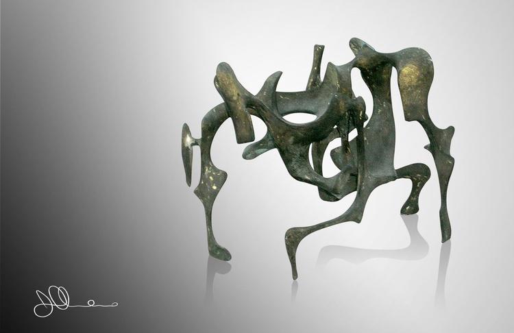 Cobra Pose Figure | Bronze Age Collection - Image 0