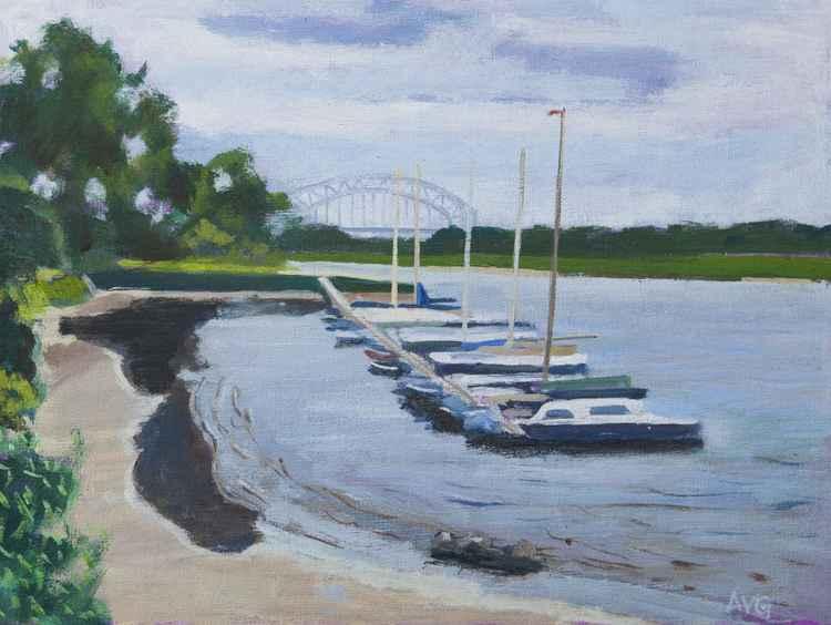 De Rijn bij Oosterbeek -