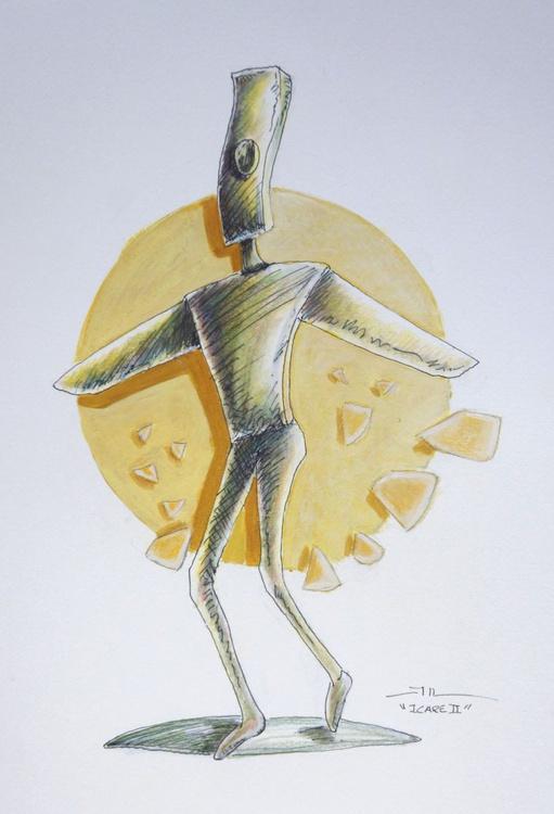Icare 2 ( sketch) - Image 0