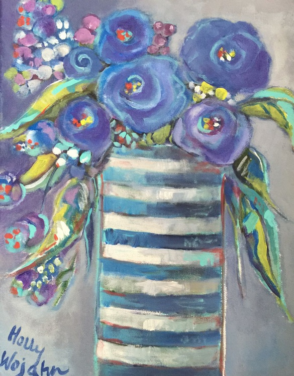 Blooms in Blue - Image 0